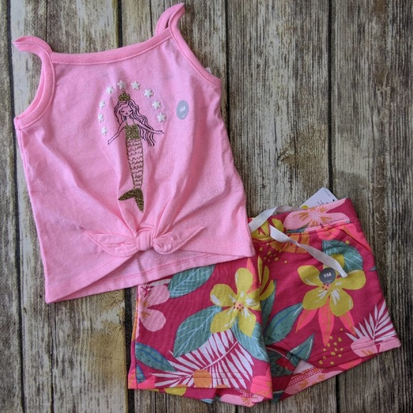 Nwt Carter's Summer 2 piece outfit 9m